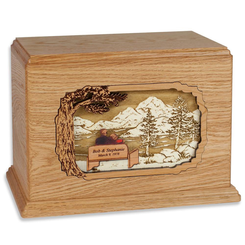 Soulmates Wood Companion Urn