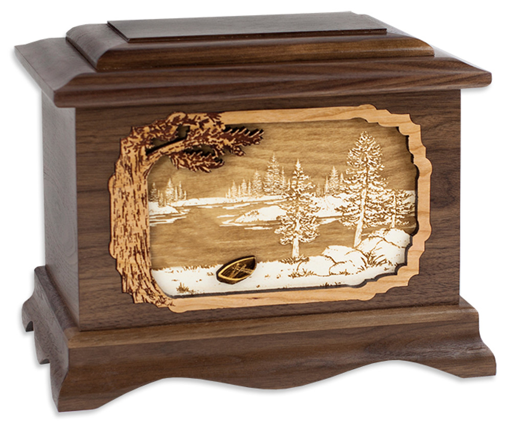 Great Lakes Cremation Urn - Boat