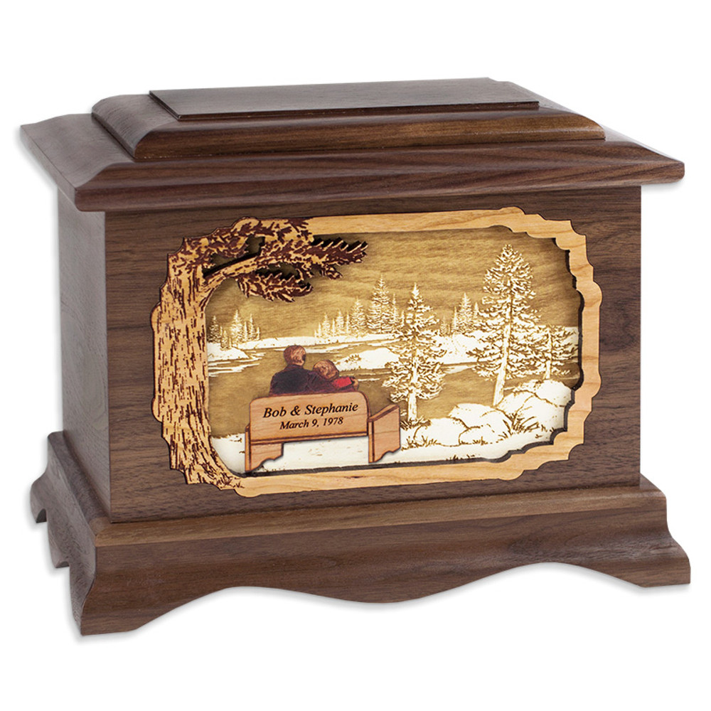 Great Lakes Cremation Urn - Soulmates (includes customization)
