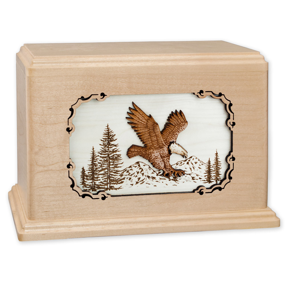 Eagle Wood Companion Urn - Maple Wood
