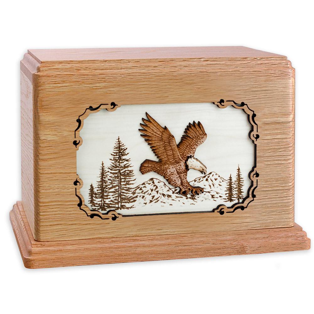 Eagle Wood Companion Urn - Oak Wood