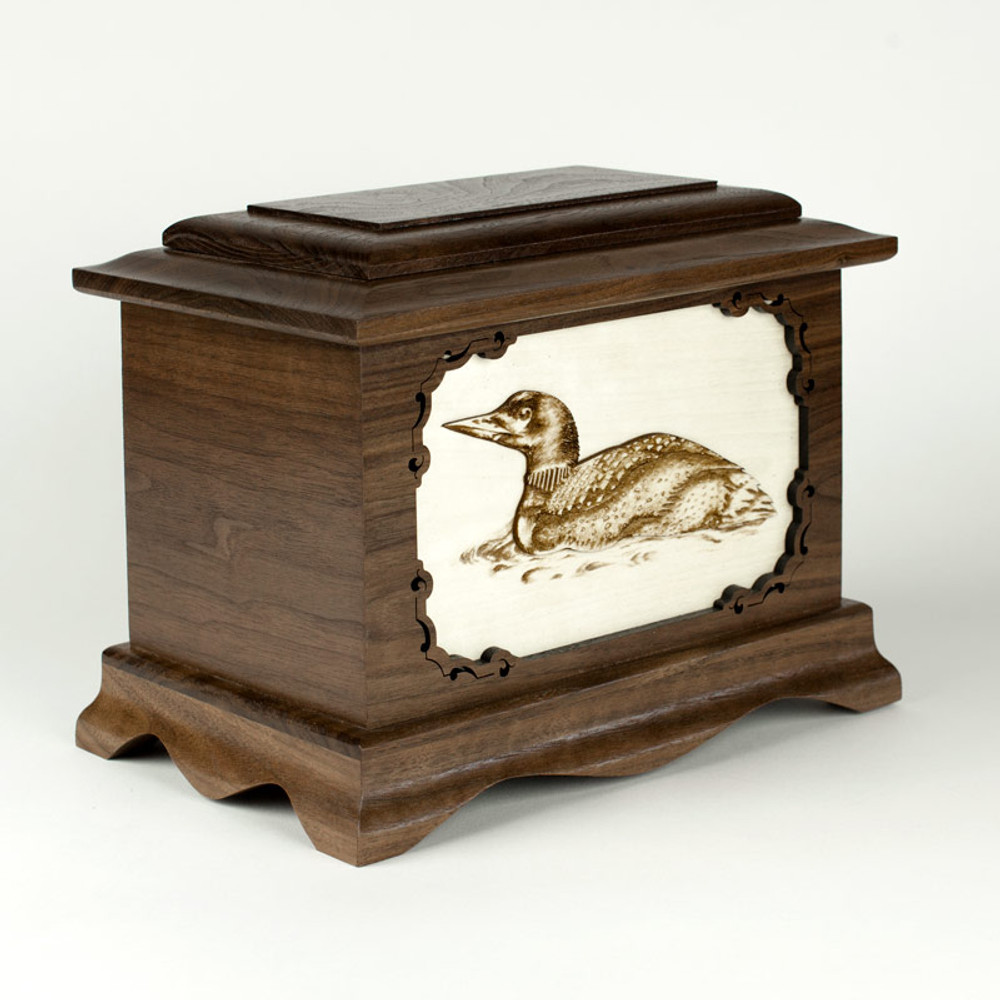 Loon Cremation Urn Memorial - Additional Images