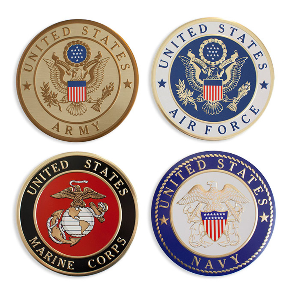 Military Service Emblems