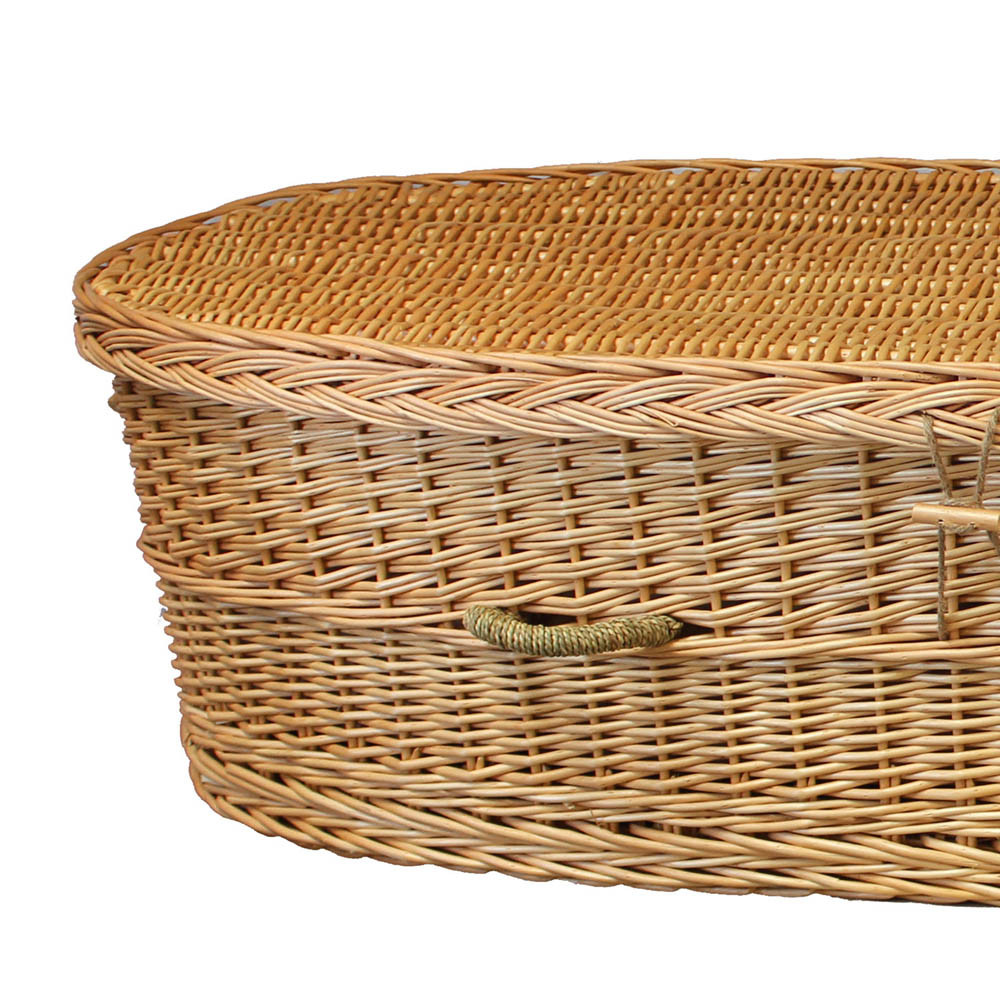 Willow Casket: Top Detail
