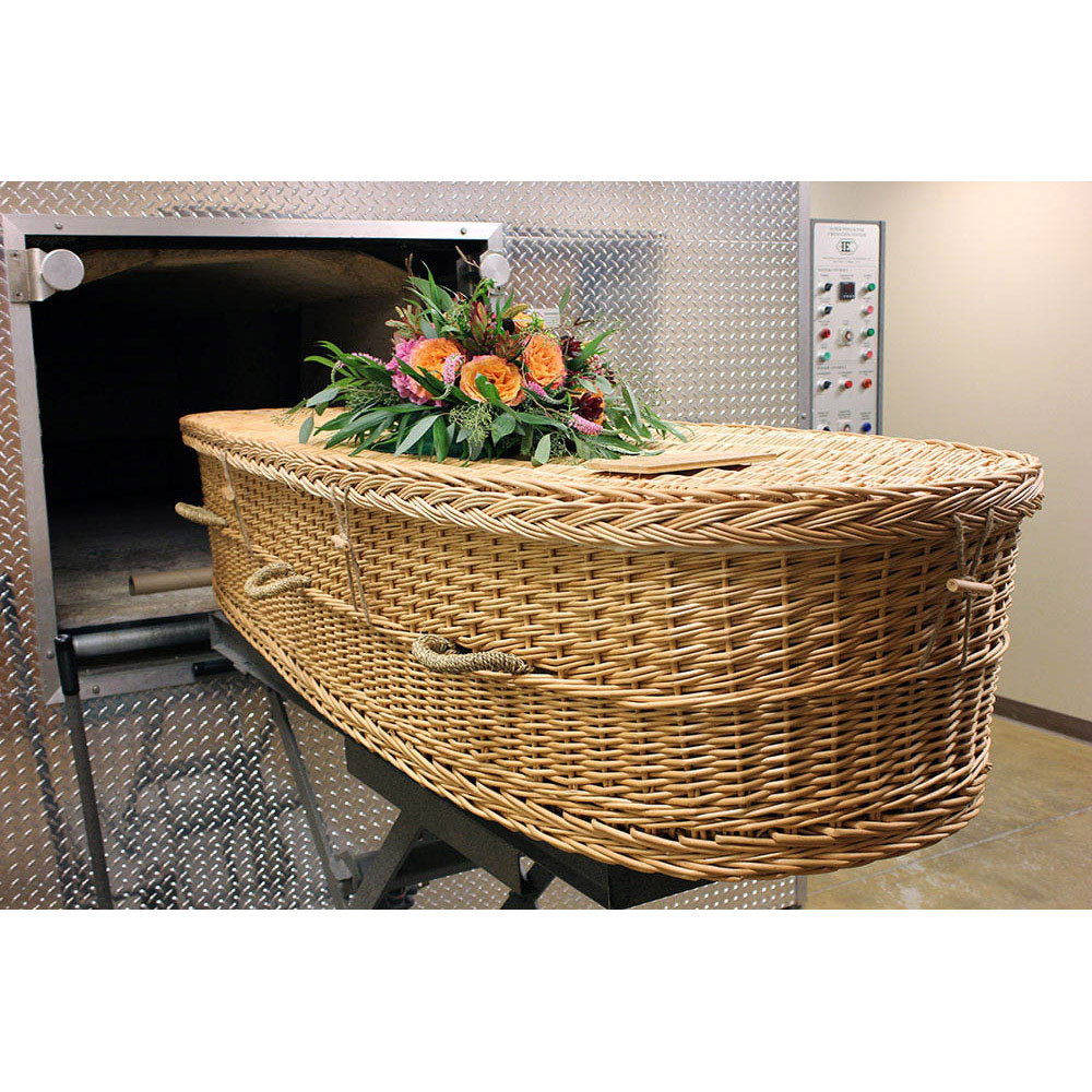 Ideal as an eco-friendly and sustainable casket for cremation