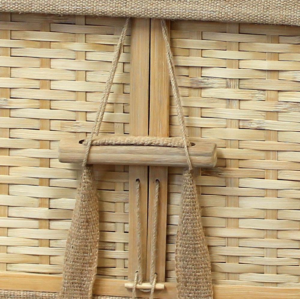 Bamboo Casket Detail: Handles
