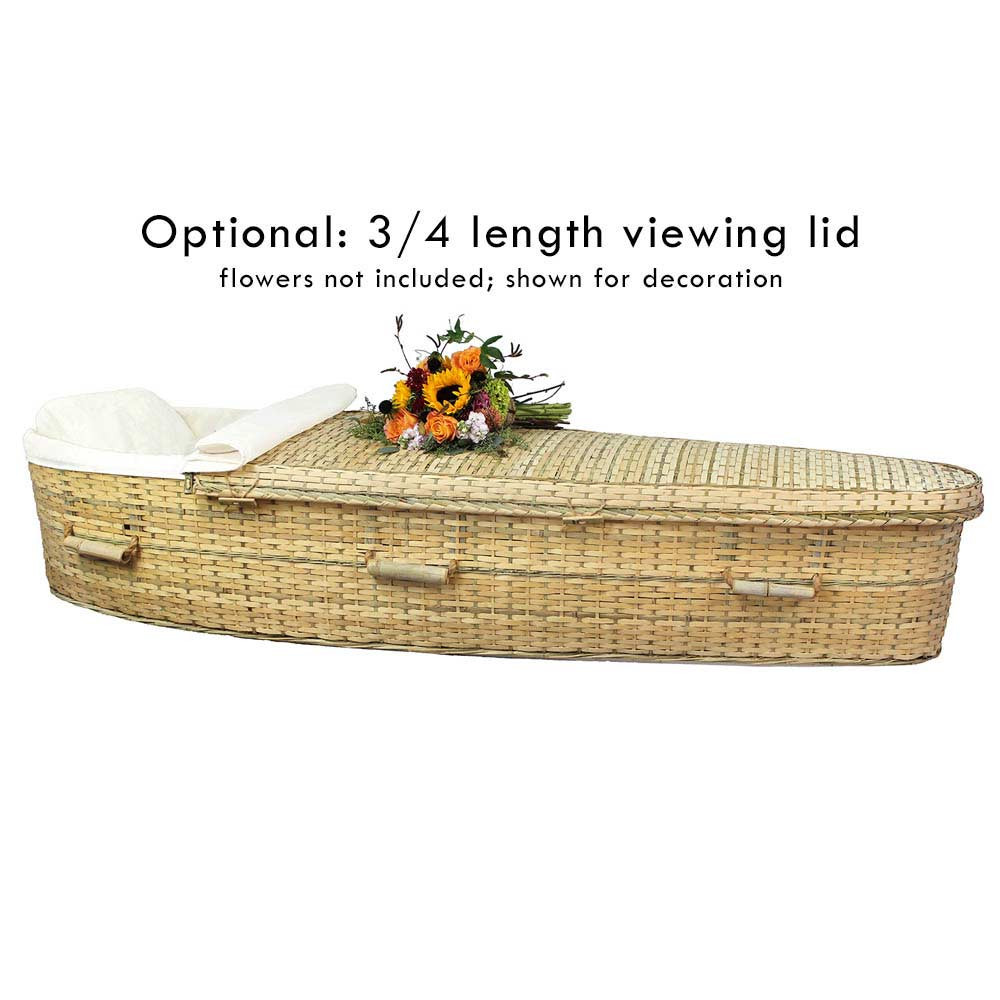 Optional viewing lid - 3/4 length