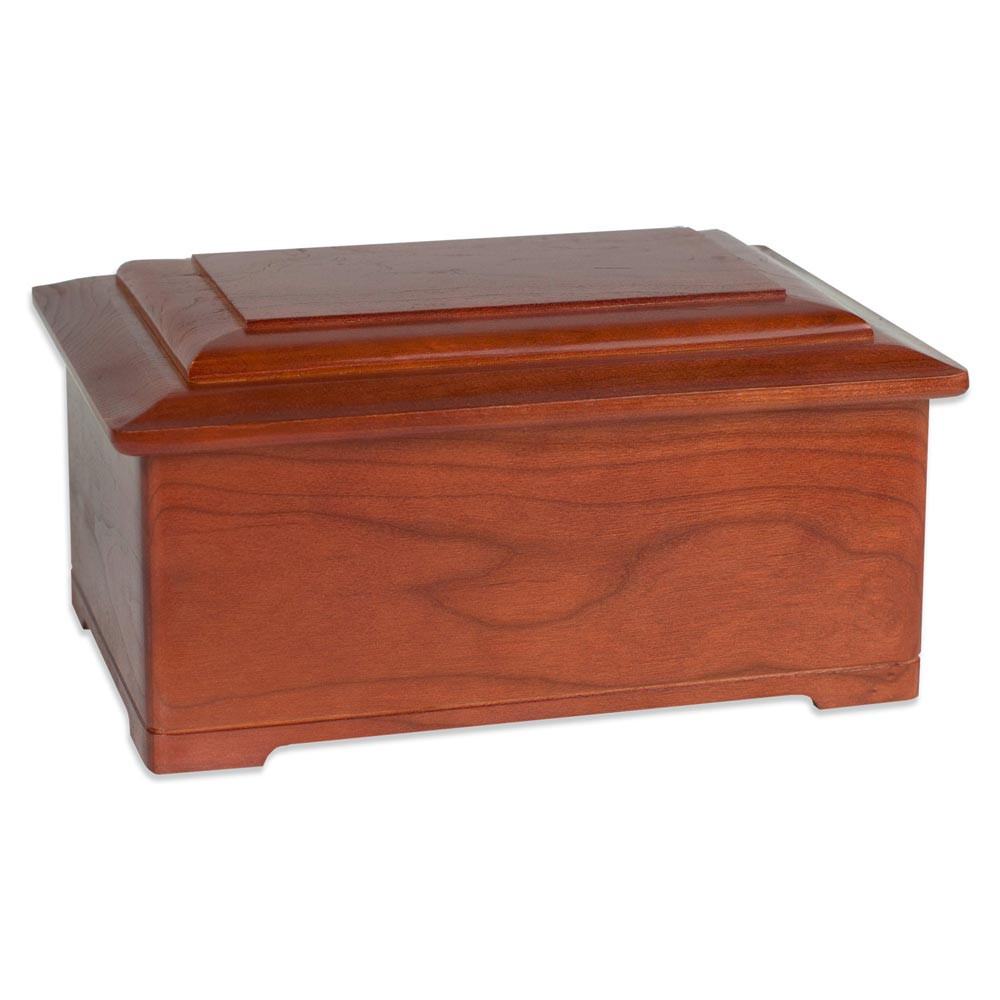 Cherry Wood Legacy Cremation Urn