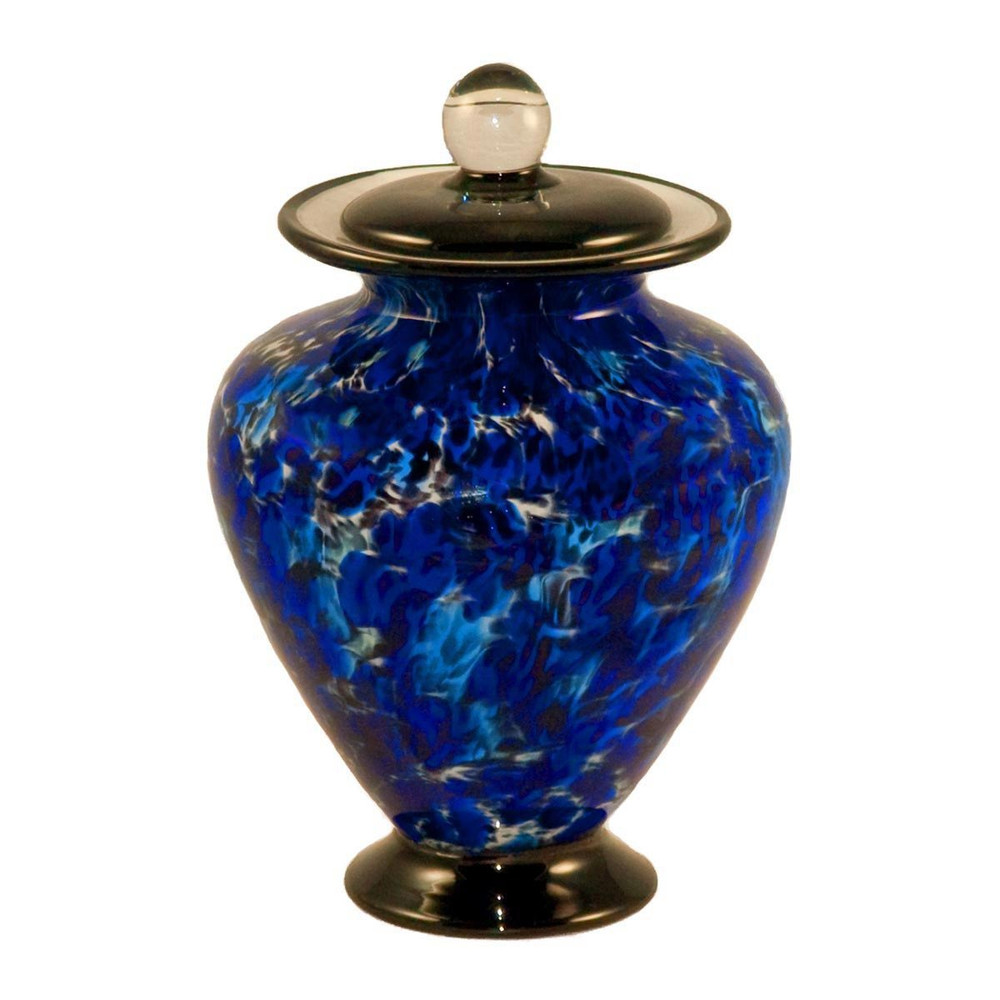 Amato Water Glass Cremation Urn in Small