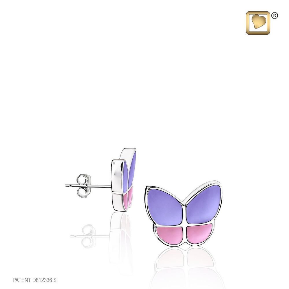 Butterfly Cremation Urn Bracelet in Lavender - Designed to match