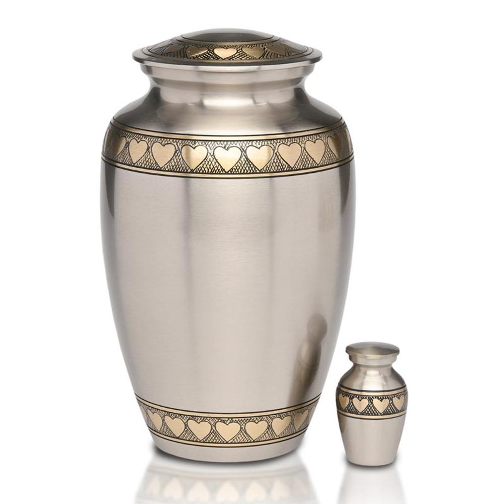 Adult Urn & Small Keepsake Urn