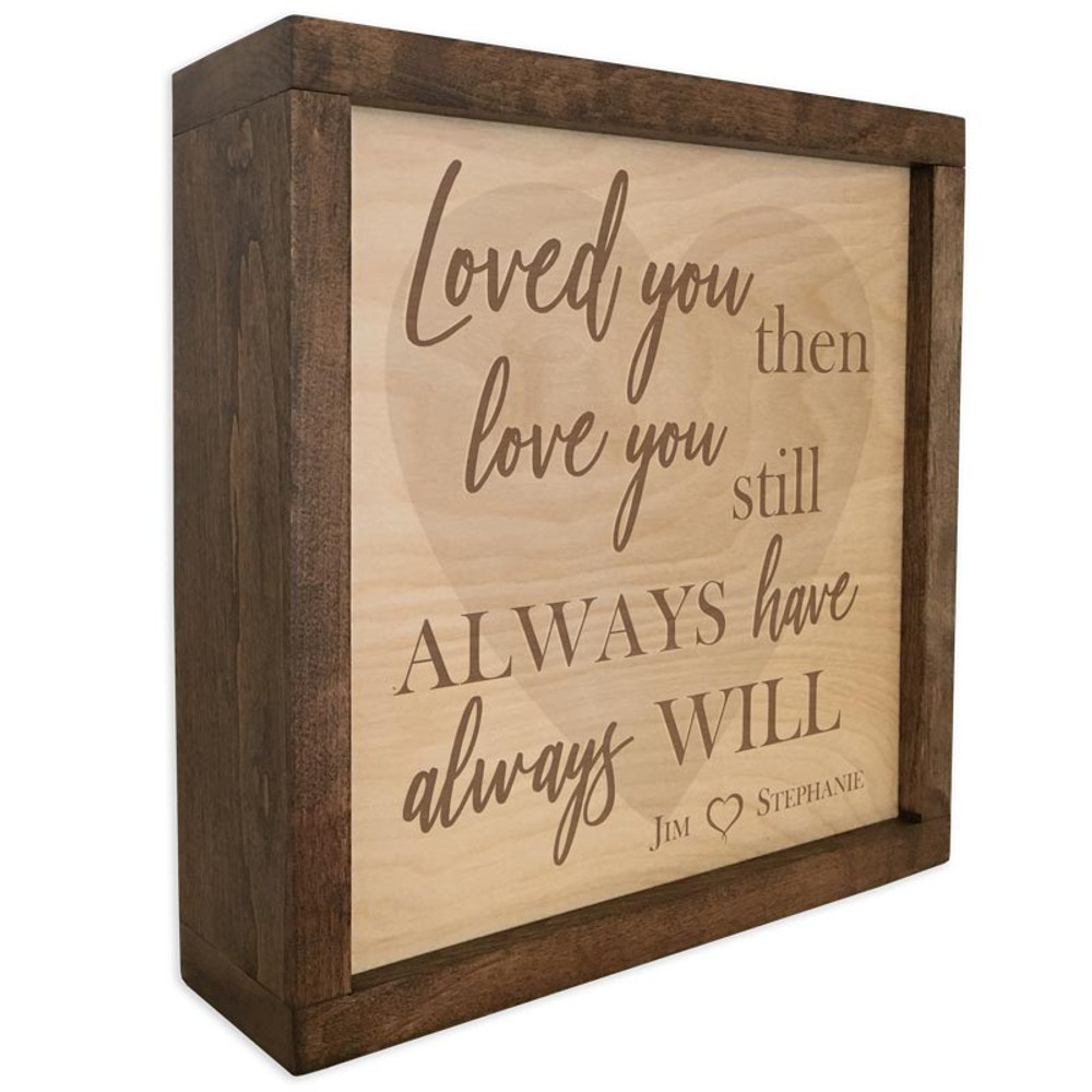 Memorial Quote Plaque Cremation Urn with Heart