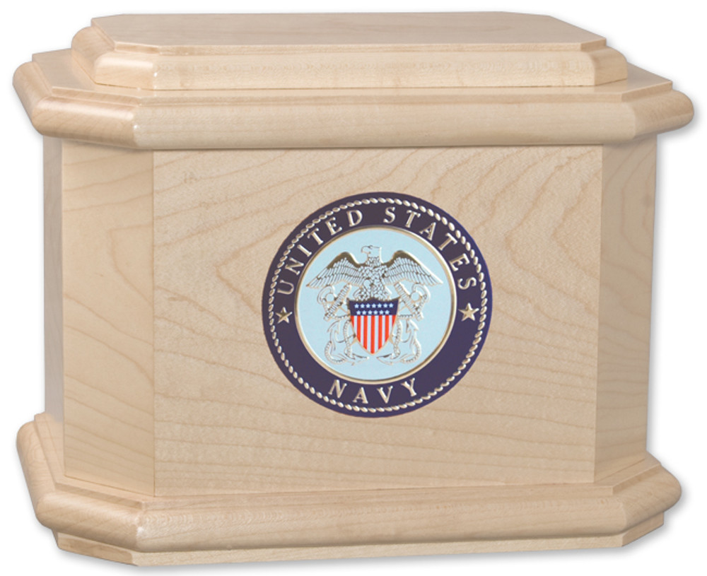 Patriot Cremation Urn - Maple