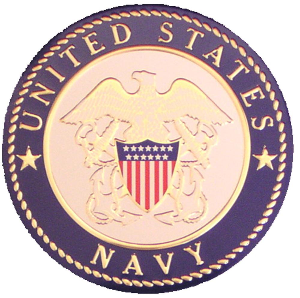 Navy Wood Urn