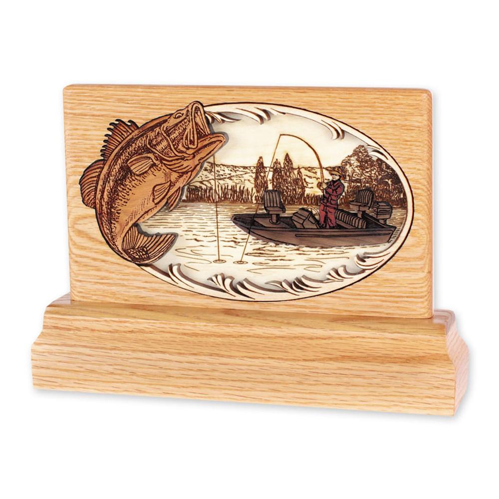 Keepsake Urn - Boat Fishing