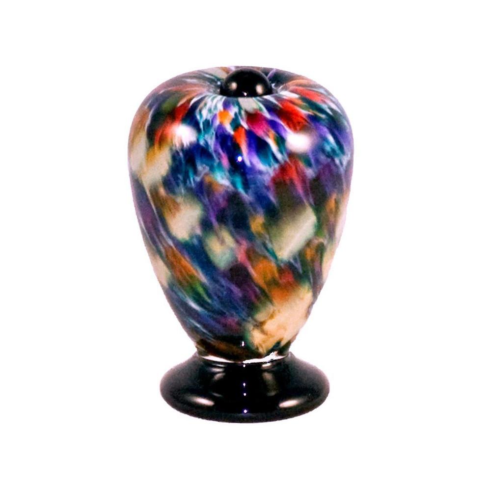 Deco Hand Blown Glass Keepsake Urn - Desert