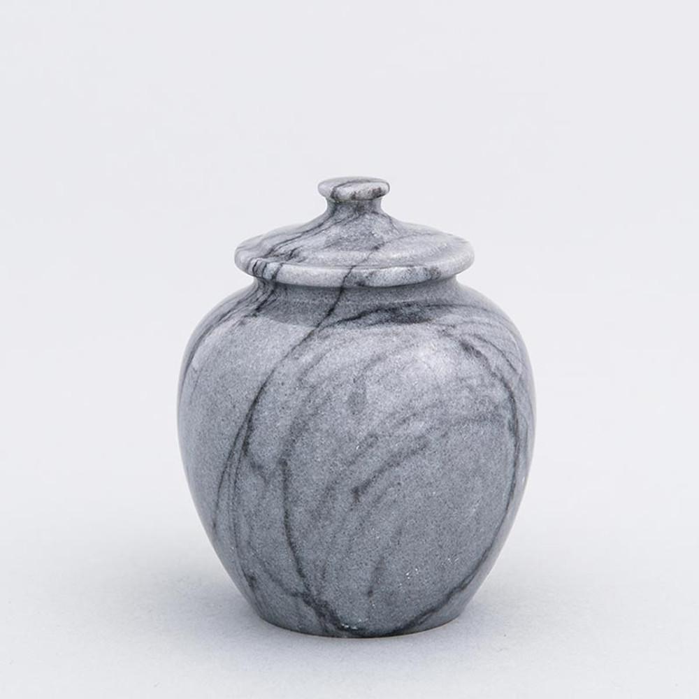 Gray Legacy Marble Keepsake Urn