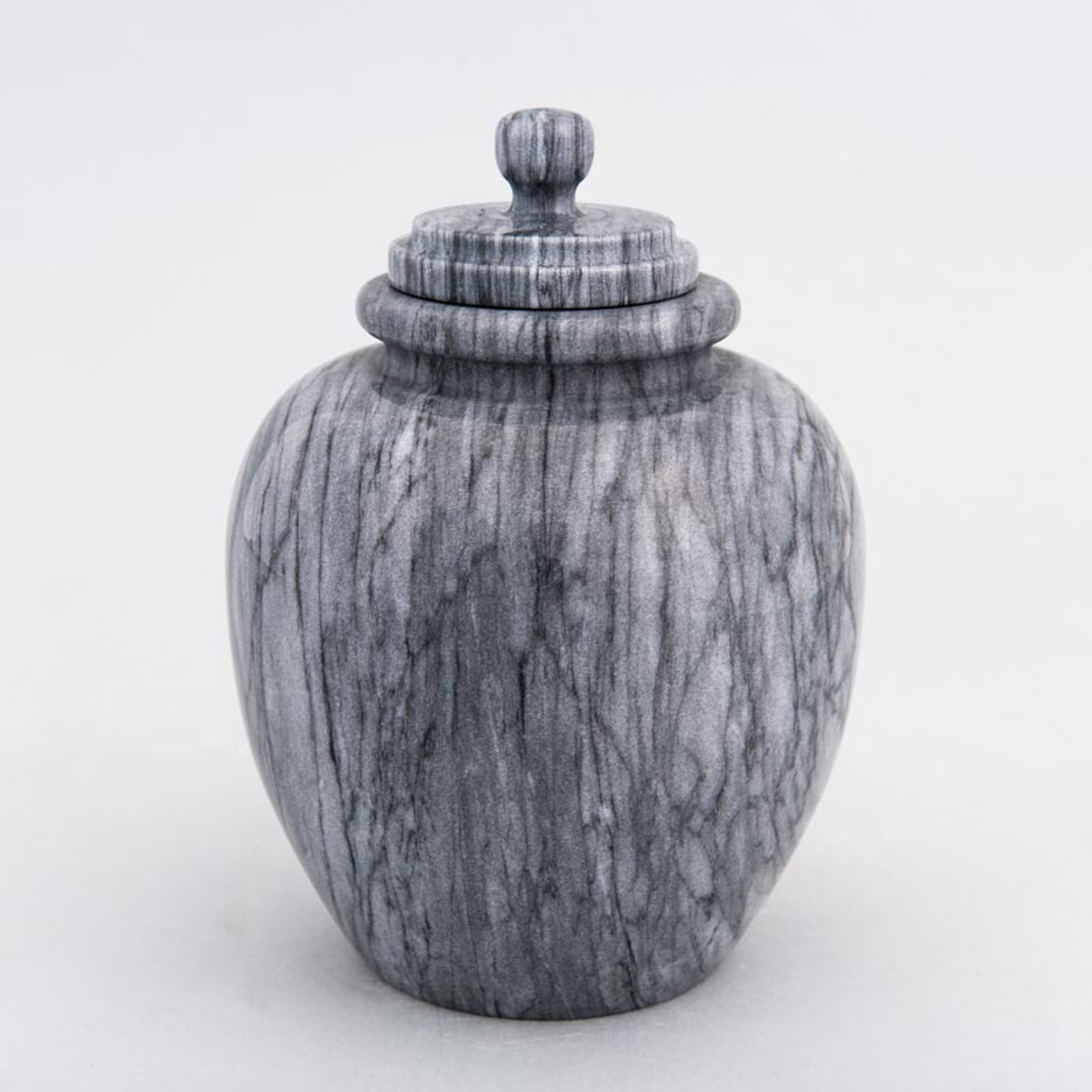 Gray Legacy Youth/Sharing Marble Cremation Urn