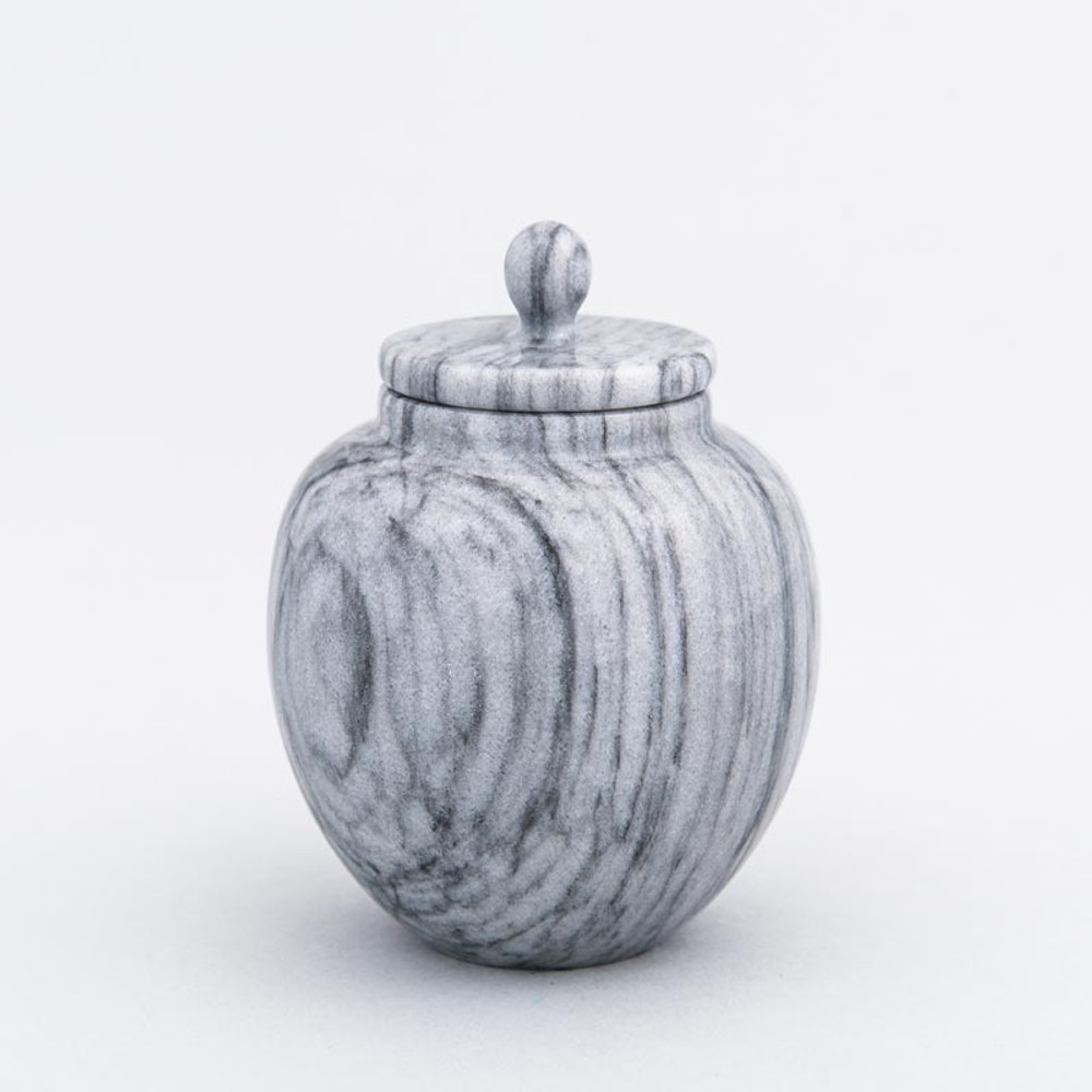 Gray Legacy Infant/Petite Marble Cremation Urn