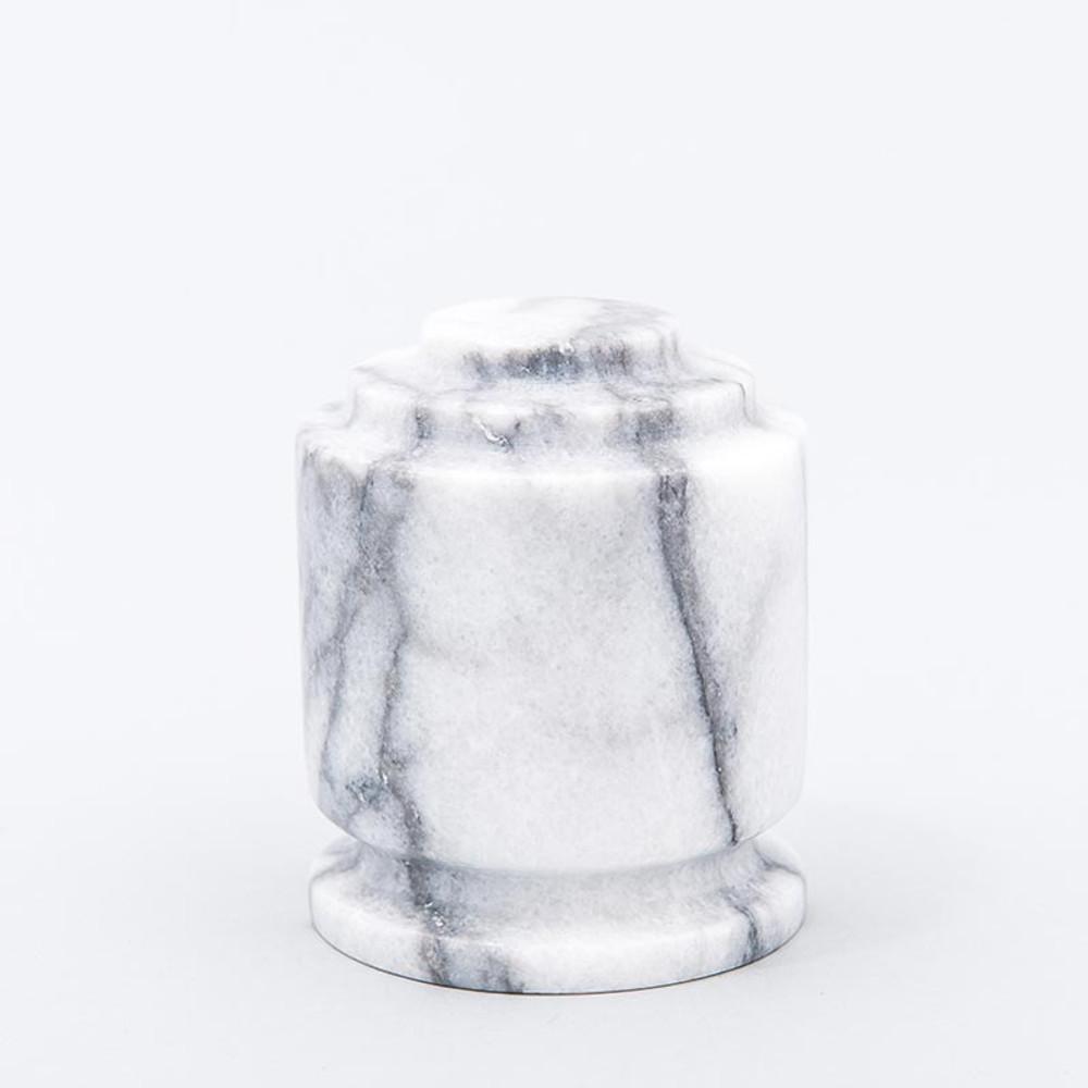 White Estate II Marble Keepsake Urn
