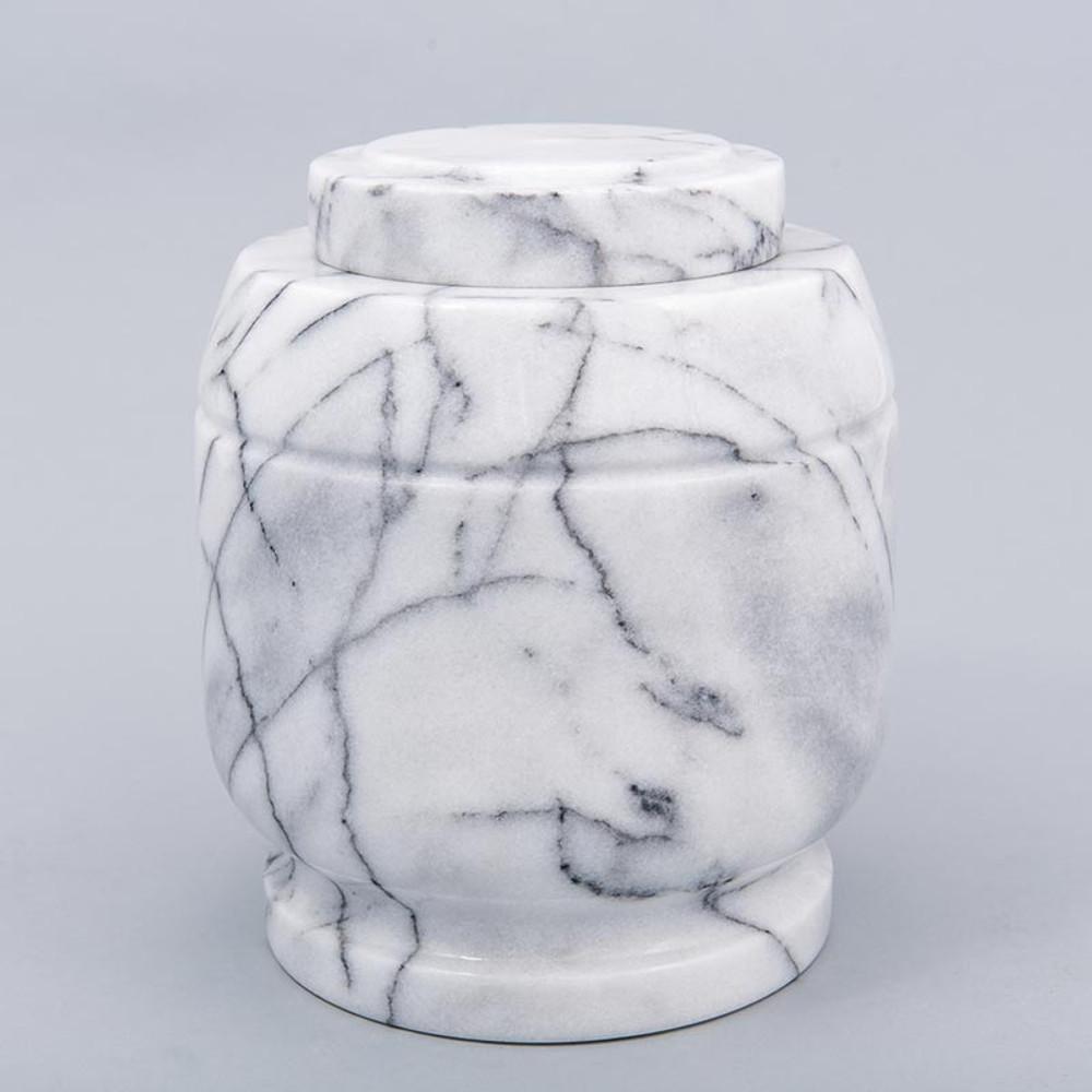 White Crest Marble Urn