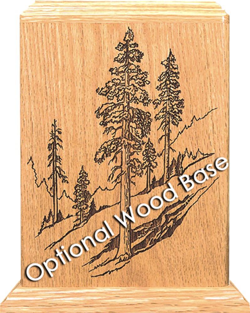 Optional Wooden Base
