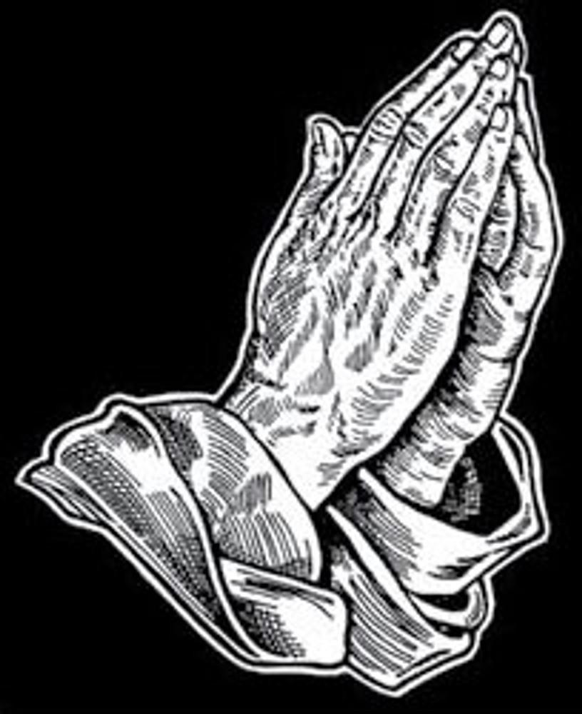 Urn Artwork | Praying Hands
