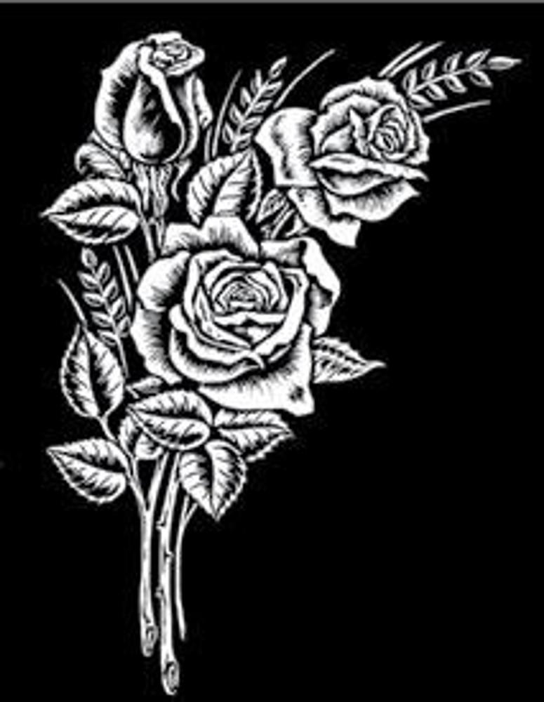 Urn Artwork | Rose Bouquet