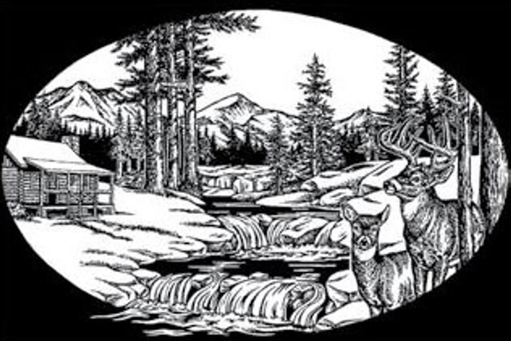 Urn Artwork | Cabin in Nature