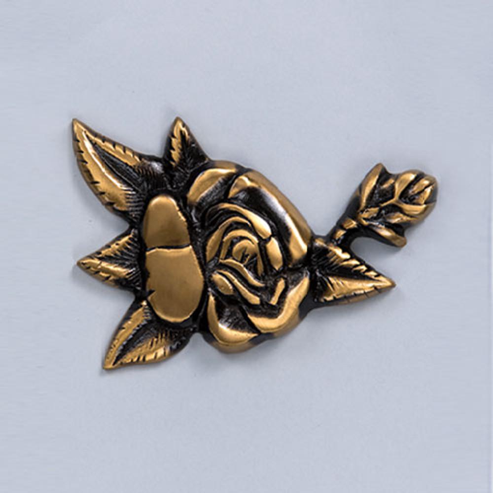 Cremation Urn Emblem - Rose