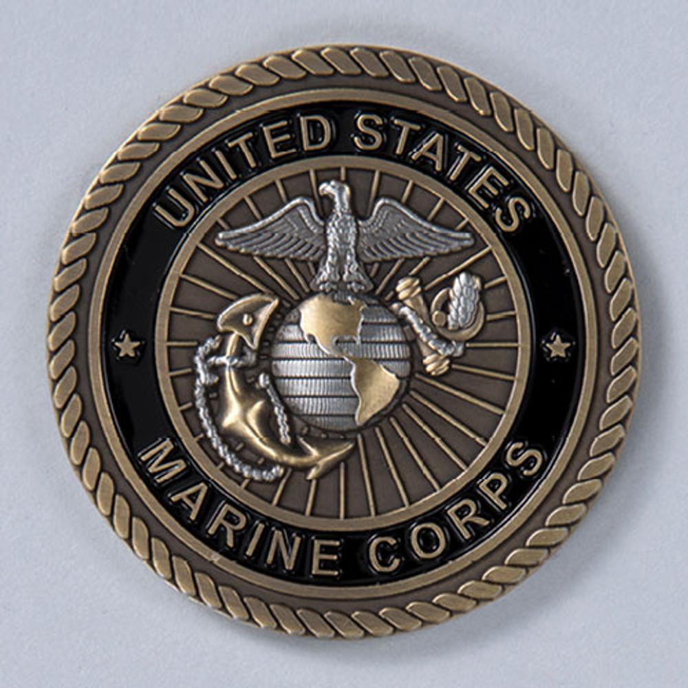 Military Cremation Urn Emblem - Marine Corps