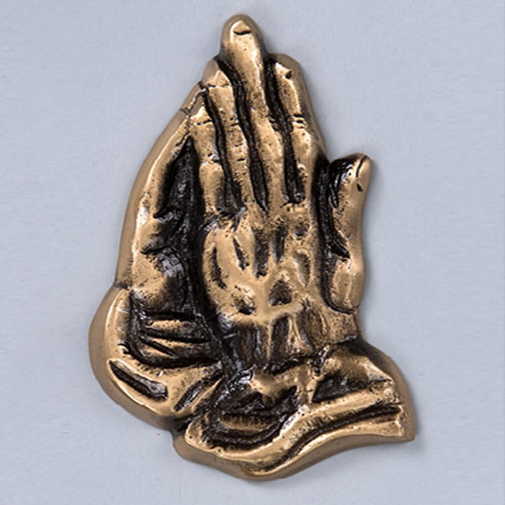 Cremation Urn Emblem - Praying Hands