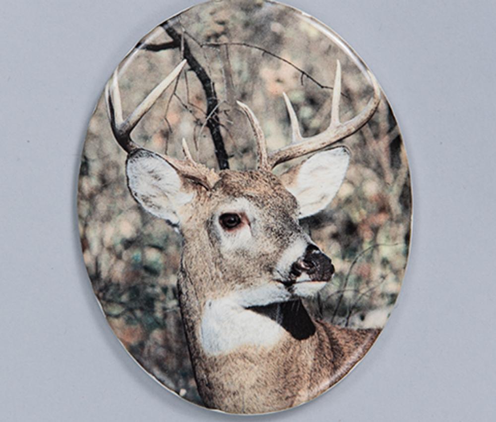 Ceramic Photo - Vertical Oval