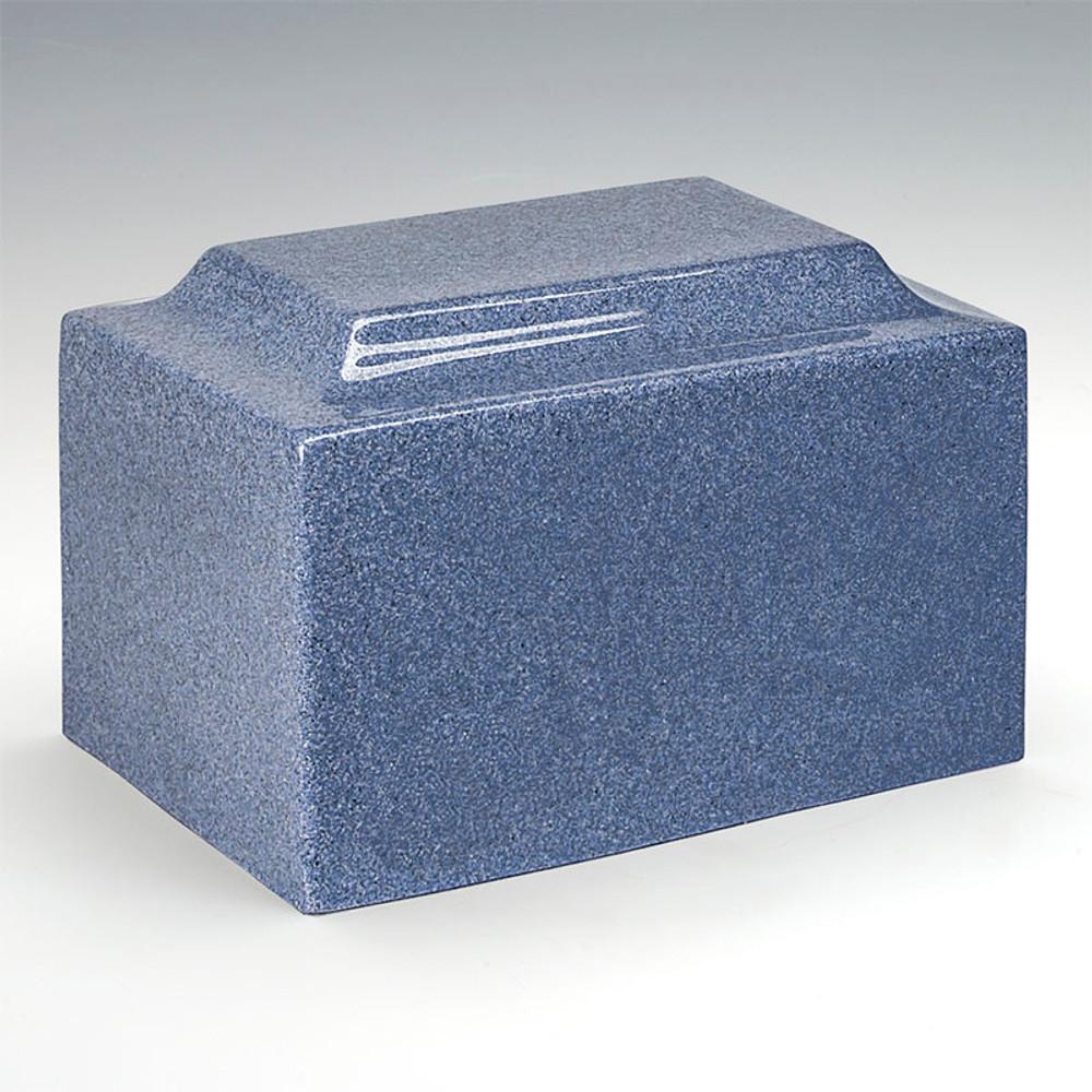 Classic Cultured Granite Urn - Paradise Blue