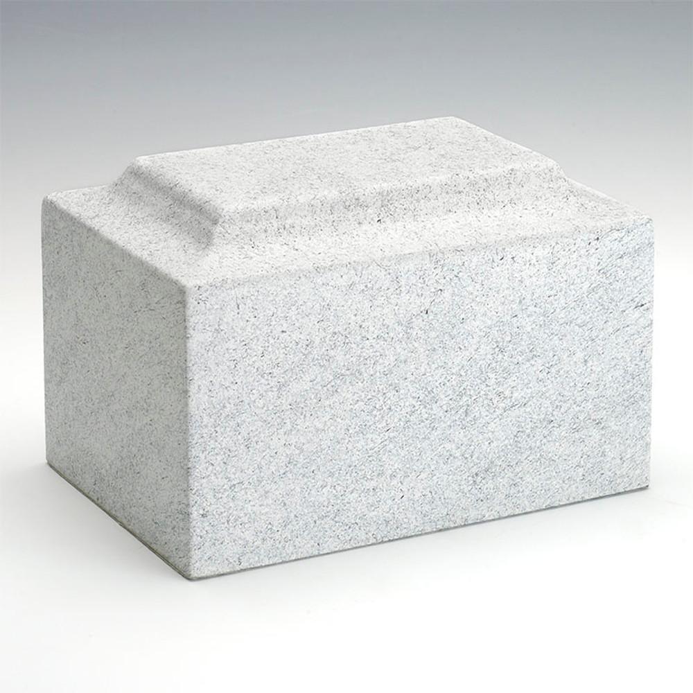 Classic Stone-Tone Cultured Marble Urn in Granitone