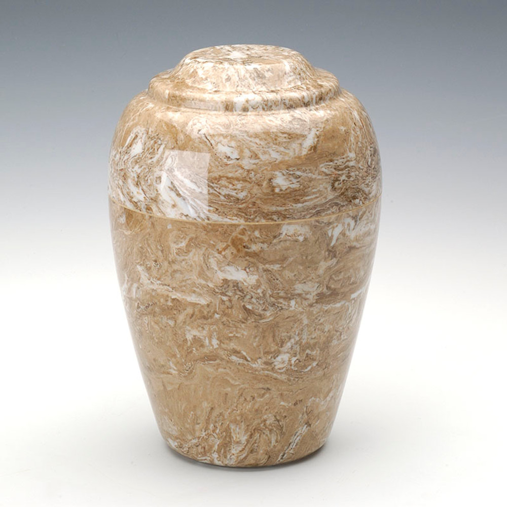 Grecian Cultured Marble Urn in Syrocco