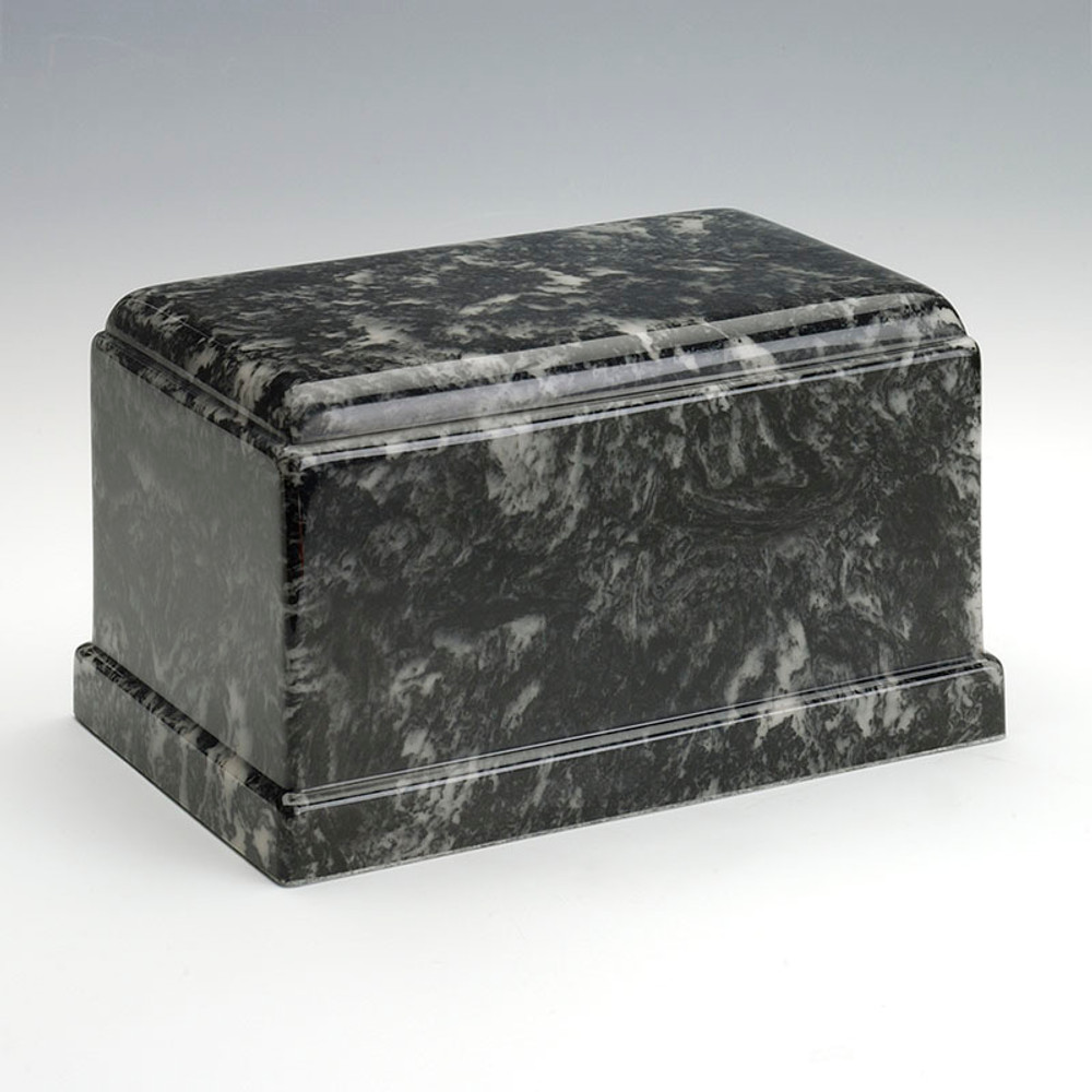 Olympus Cultured Marble Urn in Ebony