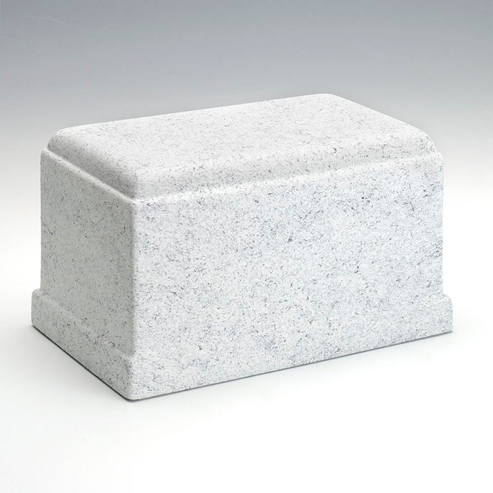 Olympus Stone-Tone Cultured Marble Urn in Granitone