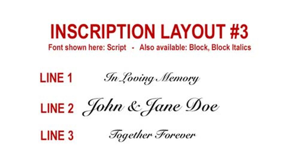 Inscription Layout 3