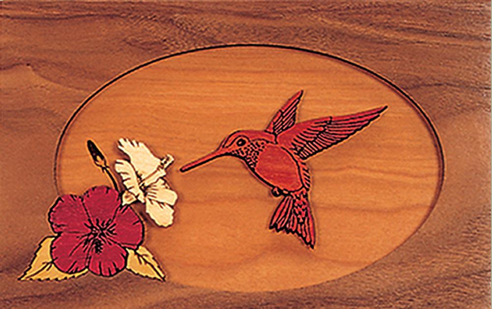 Hummingbird Scene - Companion Urn