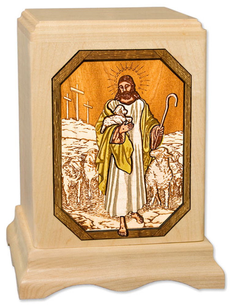 The Lord is My Shepherd | Maple Urn