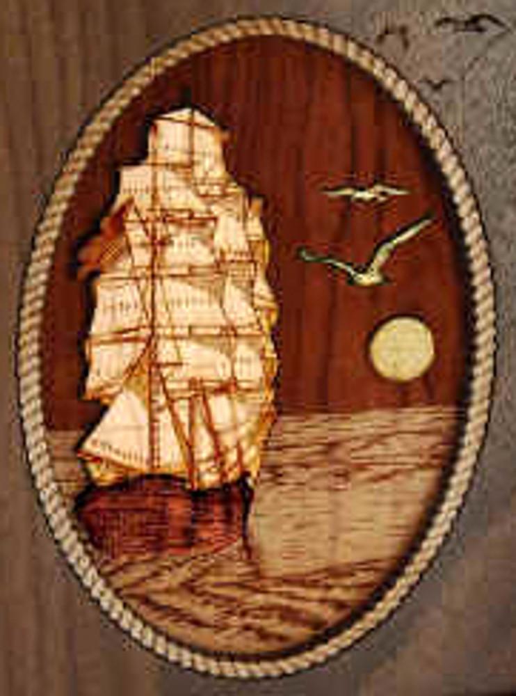 Keepsake Urn - Sailing Home
