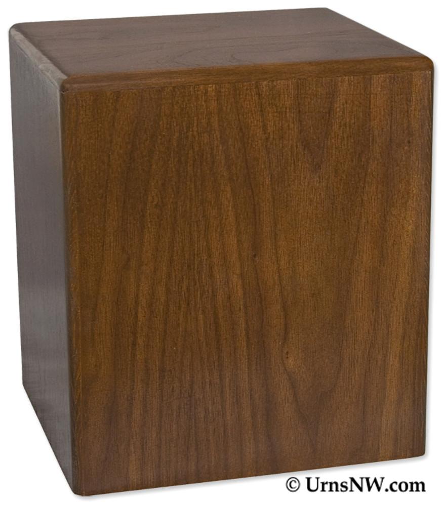 Simplicity Vertical Budget Urn - Walnut