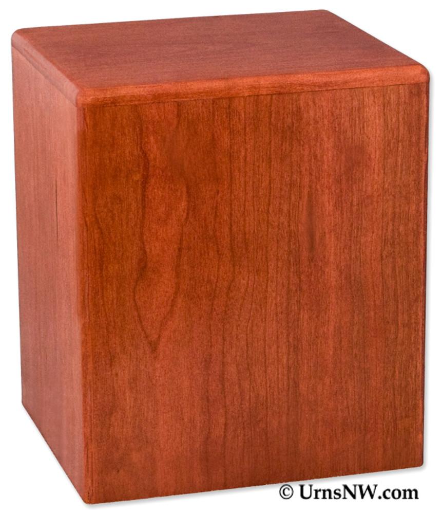 Simplicity Vertical Budget Urn - Cherry