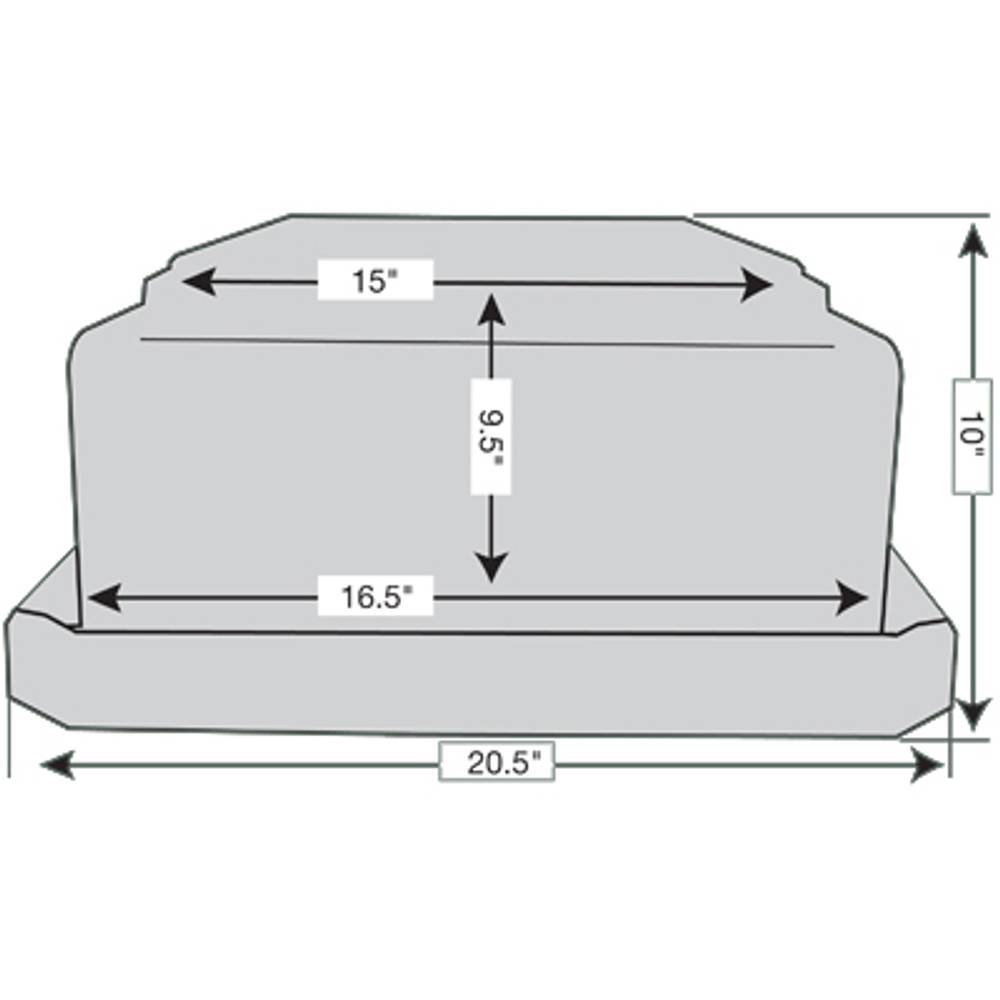 Polyguard Burial Vault Diagram