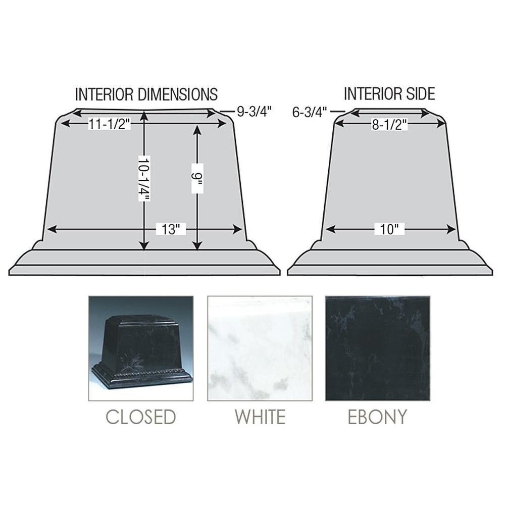 Trigard Millenium Burial Vault - Diagram