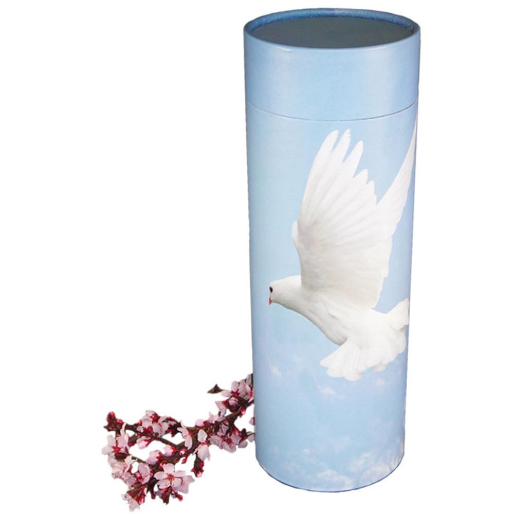 Ascending Doves Scattering Urn Tube