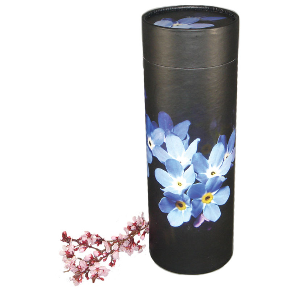 Forget Me Not Scattering Urn Tube