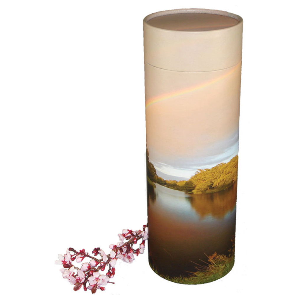 Rainbow Pond Scattering Urn Tube