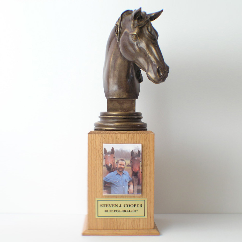 Horse Themed Cremation Urn